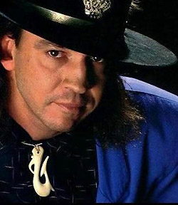 stevie ray vaughan da vicino